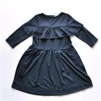 【 folk made 2018AW】No.7 scrumptious dress / 黒