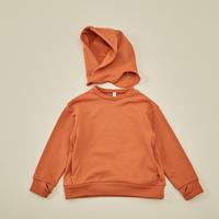 """【 MOUN TEN. 21AW 】separate hoodie """"パーカ"""" / オレンジ / 0(150-160)"""
