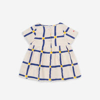 "【 BOBO CHOSES 21SS 】Cube All Over Buttoned Dress(121AB069)""ワンピース"""
