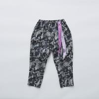 """【 eLfinFolk 21SS 】Leaf paisley pants(elf-211F26)""""パンツ"""" / charcoal / 100-130"""