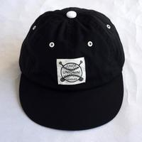 【 UNIONINI 2019SS 】AC-018 baseball cap / Black