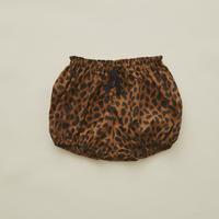 【 eLfinFolk 2020SS 】elf-201F20 leopard bloomers / brown / 80-90cm