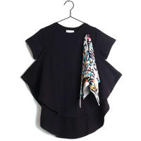 【 WOLF & RITA 2019SS 】LUANA - T-shirt / BLACK