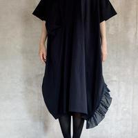 【 UNIONINI 2019SS 】OP-056 ◯△ long dress (M) / Navy  / レディース