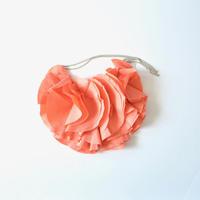 "【 GRIS 2020SS 】GR20SS-AC001 ""Floral Pochette"" / Flamingo Pink"