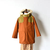 "【 eLfinFolk 20AW 】high lander coat(elf-202F50)""コート "" / brown"