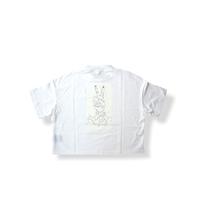 "【 UNIONINI 21SS 】peace rocket tee  "" Tシャツ ""  / white / 大人サイズ"