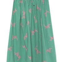 【 Bobo Choses 2019SS 】119108 Geese Midi Skirt