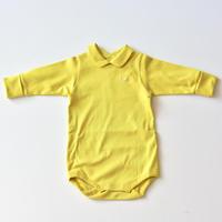 """【 ミナ ペルホネン 21AW 】ZA8147P yui """"ロンパース """" / yellow / 70-80cm"""