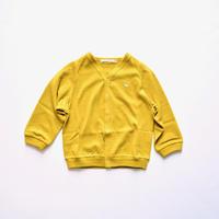 """【 ミナペルホネン 20AW 】YA8076P  zutto """" カーディガン""""  / mustard / 80-100cm"""