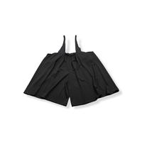 【 nunuforme 21AW 】サスペンダー付パンツ / 10-nf16-647-029 / Black