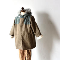 "【 eLfinFolk 20AW 】high lander coat(elf-202F50)""コート"" / mocha"