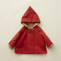 "【 eLfinFolk 20AW 】elf coat(elf-202F47)""コート""/ red / size 90-100"