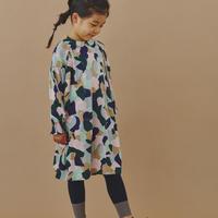 """【 ミナペルホネン 20AW 】YA8079P  foliage """" ワンピース""""  / pink mix / 110-140cm"""