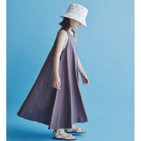 "【 GRIS 21SS 】No sleeve Dress [GR21SS-CU002] ""ワンピース"" / PURPLE / S-L"