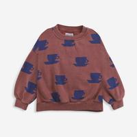"【 BOBO CHOSES 21AW 】Cup Of Tea All Over sweatshirt(221AC041) ""スウェット"""