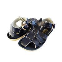 """【 Saltwater Sandals 20SS】 海でも履けるソルトウォーターサンダル  """"Shark""""  / ネイビー / 13 - 16cm"""