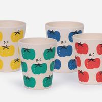 "【 BOBO CHOSES 21SS 】Tomatoes Pack Of Bamboo Glasses(121AU007)""コップ"""