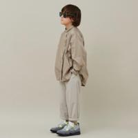 """【 MOUN TEN. 21AW 】80/1 washer big shirts """"シャツ"""" / グレージュ / 1(Ladies F  )"""