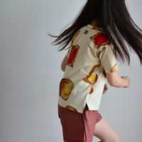 """【 WAWA 21SS 】UNI TEE - TOAST """" Tシャツ """"  / 2Y - 9Y"""