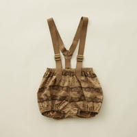 "【 eLfinFolk 20AW 】castle printed bloomers (elf-202F09)""パンツ"" / beige"