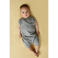 """【 GRAY LABEL 21SS】Baby Grow with Snaps   """" ロンパース """" / Grey Melange"""