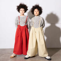 """【 folk made 21AW 】 antique burberry suspenders pants """" パンツ """" / ivory / L(125-140)"""