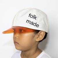 "【 folk made 21SS 】lalique cap "" 帽子 "" / white"
