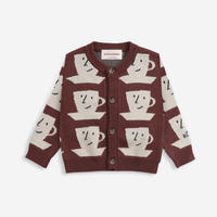 """【 BOBO CHOSES 21AW 】Cup Of Tea knitted cardigan(221AB076) """"カーディガン"""""""