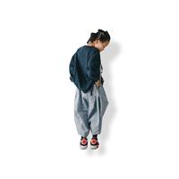 【 nunuforme 21AW 】花柄ポインテッドパンツ / 13-nf16-621-136A / Blue / レディース