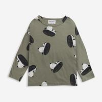 "【 BOBO CHOSES 21AW 】Doggie All Over long sleeve T-shirt(221AC013) ""ロンT"""