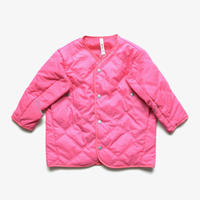 "【 MOUN TEN. 20AW 】quilt mitten coat  [MT202035] "" コート ""  / pink /"