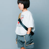 【 nunuforme 2020SS 】バイカラーショートパンツ [nf13-629-088A]  / Gray  / 155cm - F(レディース)