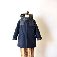 "【 eLfinFolk 20AW 】high lander coat(elf-202F50)""コート"" / navy"