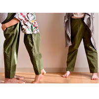 "【 WONDER FULL LIFE 20SS 】 STANDARD PANTS ""ピーカブーヤ別注カラー"" /  KIDS"