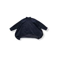 【 nunuforme 21AW 】サークルシャツ / 11-nf16-545-133 / Navy
