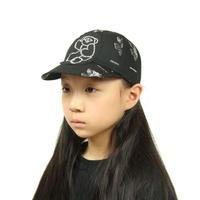 【 UNIONINI 20AW 】teddybear cap / black
