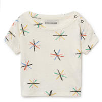 【 Bobo Choses 2019SS 】119149 Dandelion Linen T-Shirt