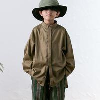 【 MOUN TEN. 2020SS 】80/1 washer big shirts [MT201004-a]  / khaki