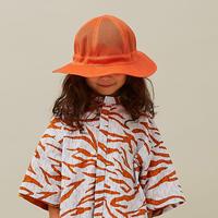 """【 MOUN TEN. 21SS 】mesh adventure hat  [21S-MA20-0949] """"帽子"""" / orange"""