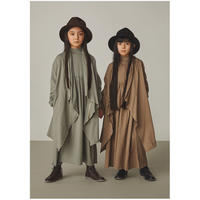 """【 GRIS 21AW 】 Stole Cape """"ストール"""" / Alpha Green / size L(135-150)"""