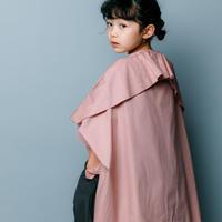 【 nunuforme 2020SS 】ブロードドレープブラウス [nf13-548-001A]  / Pink / 155cm - F(レディース)
