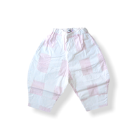 "【 franky grow 21SS 】ORIG. CHECK BIG PANTS [21SBT-235] "" パンツ "" / WHITE-PINK / LL(9〜11歳)"