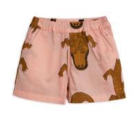 【 mini rodini 2019SS 】30106  Crocco woven shorts / Pink