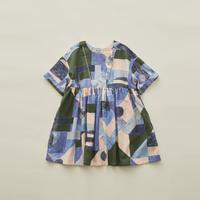 【 eLfinFolk 2020SS 】elf-201F02 Maghreb dress / blue / 110-130cm