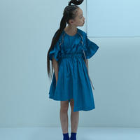 "【 UNIONINI 2020SS 】SK-002 asymmetry skirt "" スカート "" / mizuiro / 4-10Y"