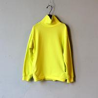 """【 MOUN TEN. 2020AW 】sweat highneck [MT192029] """" スウェット """"  / lemon / 0(150-160)"""