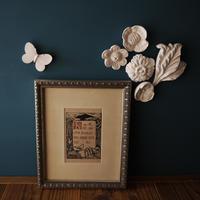 漆喰のオーナメント/花畑のマーガレット
