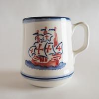 マグカップ(大)「ガレオン船」