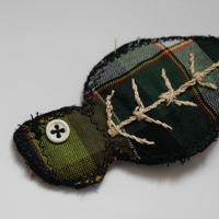 ナザレの干物のキーホルダー/グリーン